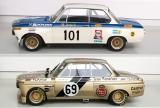 BMW 2002  Minichamps vs. BoS